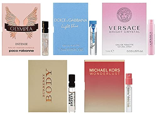Women's 5pc Designer Fragrance Sampler