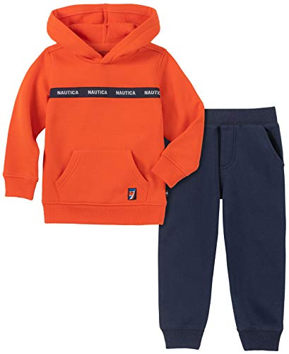 Nautica Boys 2 Pieces Sweater Pullover Pants Set