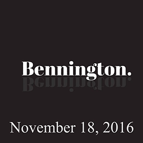 Bennington, Brian Setzer, Jim Florentine, November 18, 2016 audiobook cover art
