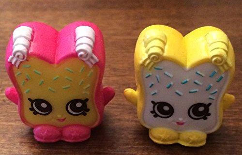 Shopkins Season 1 Figures COMBO 2-PACK Fairy Crumbs #1-088 and #1-098 (Rare)