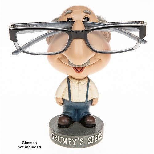 JD Bug - Soporte para Gafas de Lectura de cómicas, diseño de Gafas de Sol, Grumpy