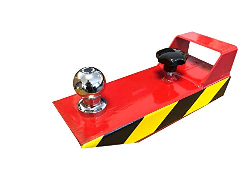 Rangierhilfe Gabelstapler Stapler Rot Anhänger Kugelkopf Anhängerkupplung