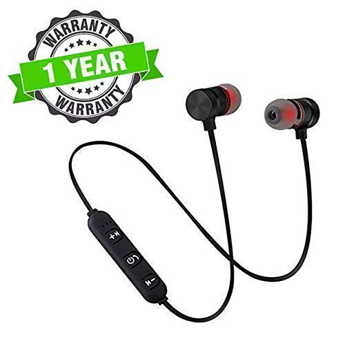 Lizzie Bluetooth Magnetic Headset Sports Wireless Headphones Neckband Bluetooth Earphone Wireless Headset with Mic for Android, Apple Devices 1