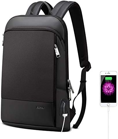 BOPAI Slim Laptop Backpack 15 inch USB Charging Backpack for Men Water Resistant College Laptop product image