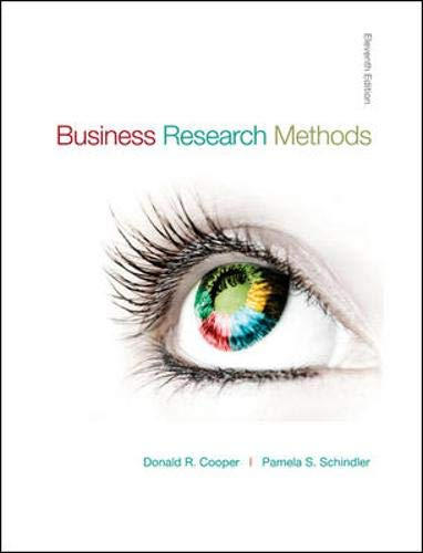 Top business research methods cooper and schindler for 2021