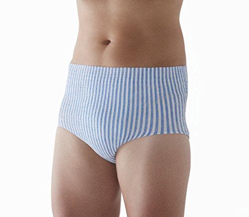『HASO 紙から生まれた新素材機能性 パンツ+吸水パッド 男性用L~LLサイズ(パンツ5枚+パッド10枚)(ウエスト 75~120cm)』の2枚目の画像