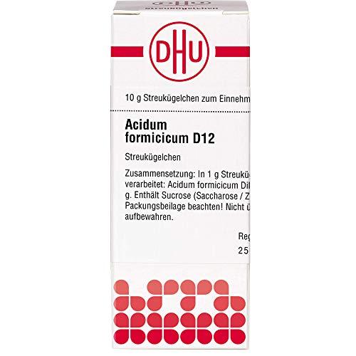 DHU Acidum formicicum D12 Streukügelchen, 10 g Globuli