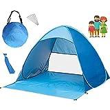 LITI Tienda de Campaña para Playa UPF 50 Pop Up Instantáneo Refugio para el Sol, Tienda de Playa para Bebé