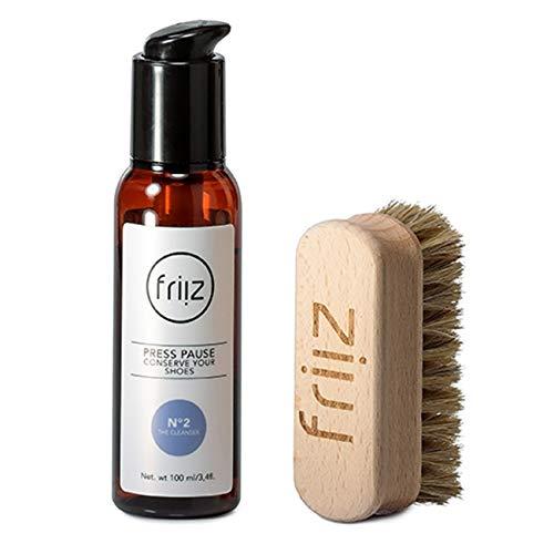 friiz Reinigungsset The Cleanser N°2 mit Bürste für Sneaker und Textilschuhe, Protection, Versiegelung