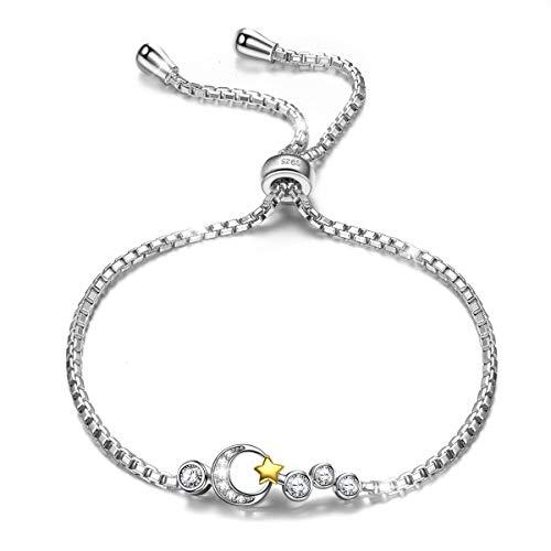 ANGEL NINA pulseras mujer plata de ley pulseras mujer baratas tous mujer joyeria pulseras de actividad regalos originales para mujer mama regalos cumpleaños aniversario