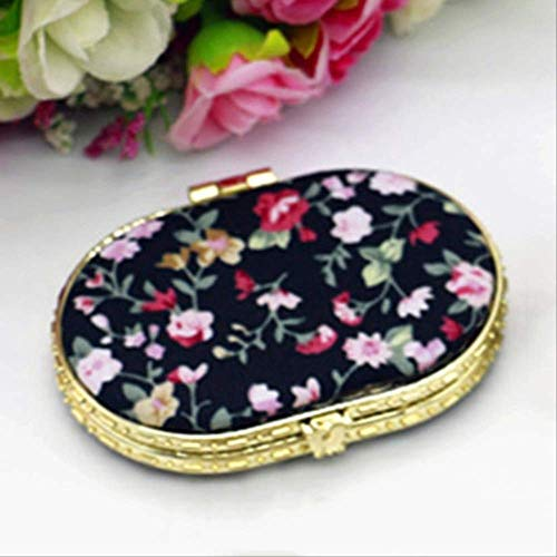 1 Piece Mini Makeup Compact Pocket Mirror BK3
