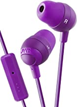 JVC HAFR37V Marshmallow Earbuds with Mic, Violet