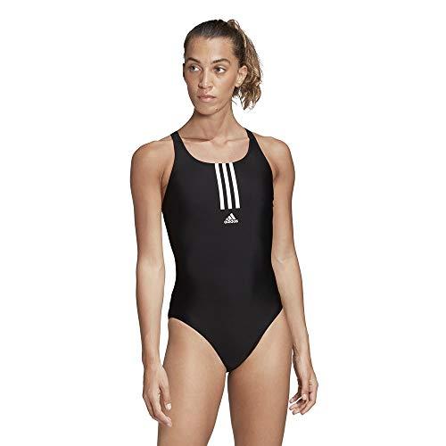 adidas Damen Badeanzug SH3.RO MID 3S S, Black(Black/White), 36