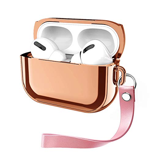 Funda compatible con Airpods Pro Case Airpods 3 Antiarañazos Dustproof Protective Cover (Airpods Pro, or).