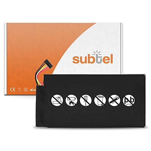 subtel® Batterie Premium Compatible avec ASUS/Google Nexus 7 1st Gen (2012) / Pad ME370T (4300mAh) C11-ME370T Batterie de Rechange, Accu Remplacement