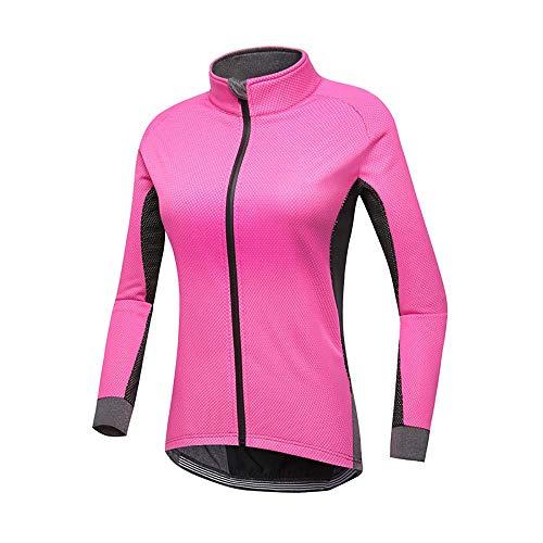 Wagsiyi-os Jersey de Ciclismo para Mujer Maillot de Invierno de Lana cálida...