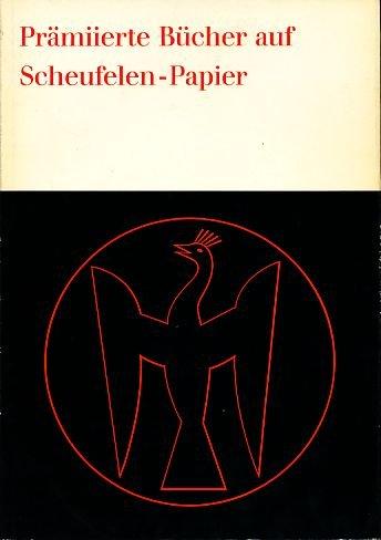 22 prämierte Bücher des Jahres 1964 auf Scheufelen-Papier.