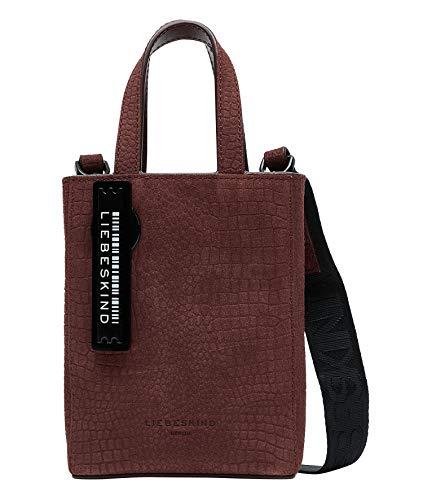 Liebeskind Berlin Paper Bag Tote, Shopper. Donna, Merlot-4974, X-Small
