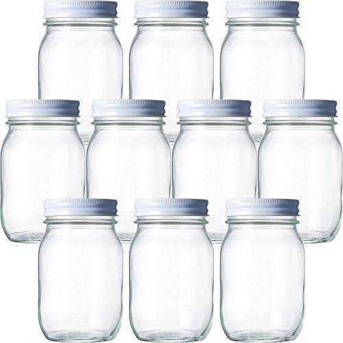 マヨネーズ瓶 マヨネーズ450 477ml -10本セット- ((ふた)白70スクリュー)