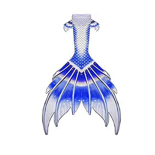 Cola de Sirena Cola De Sirena para Nadar Cola De Sirena Bebe Niña Traje De Baño Sirena Personalizado Genial para Vacaciones En La Playa (Color : Style-R, Size : Tailored)