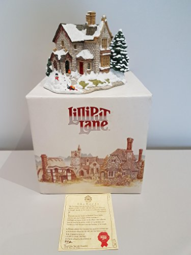 Lilliput Lane The Old Vicarage at Christmas, made in England