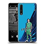 Head Case Designs sous Licence Officielle Manchester City Man City FC Ederson 2021/22 Première...