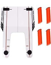GOTOP Golf Swing Trainer, Golf Training Aid Swing Peso Entrenamiento Grip Entrenamiento Herramienta de Entrenamiento de presión Putt Trainer Equipo de Entrenamiento de Golf Accesorio para Club