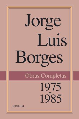 Obras Completas. 1975-1985