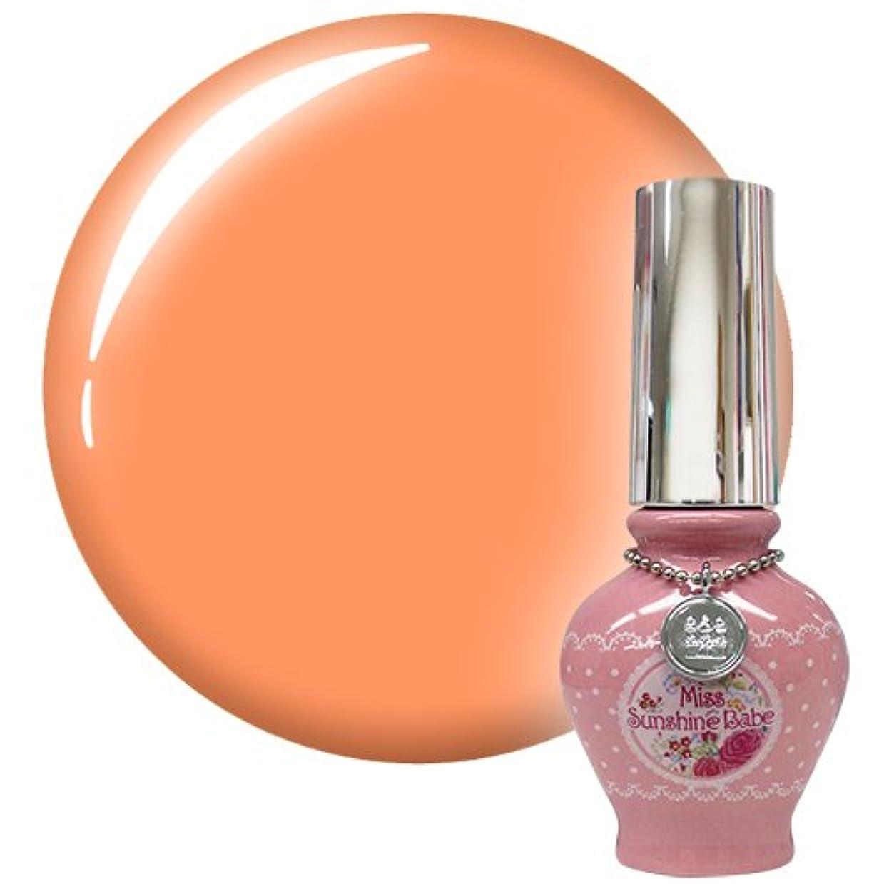 砂漠アグネスグレイ充電Miss SunshineBabe ミス サンシャインベビー カラージェル MC-88 10g ネオンライトオレンジ