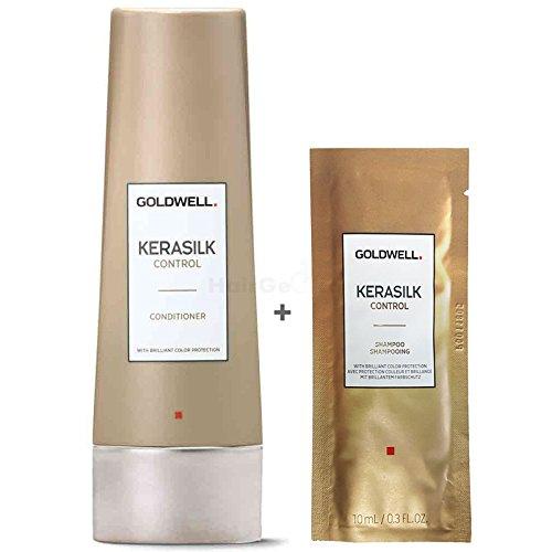 Oro Well Kera–Silk Control Set–Conditioner 200ml + Champú Sachet 10ml