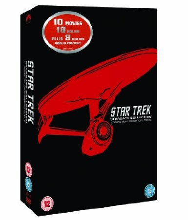 The Complete Star Trek Movies DVD Box Set Collection: Part 1: The Motion Picture / 2: The Wrath of Khan / 3: The Search for Spock / 4: The Voyage Home / 5: The Final Frontier / 6: The Undiscovered Country / 7: Generations / 8: First Contact / 9: Insurrection