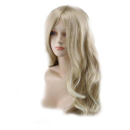 Qingfaqui Perücken Damenmoden Voll lockige Perücken 65cm Cosplay Partei-Perücke Kostüm Anime gewellte Lange Haare