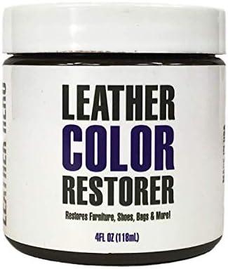 Best Leather Hero Leather Color Restorer & Applicator- Repair, Recolor, Renew Leather & Vinyl Sofa, Purse