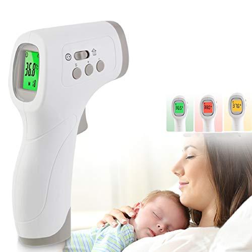 Thermomètre Médical Aesfee Infrarouge Numérique Sans Contact Front Bébé Adulte