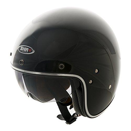Shiro 235010Jet Casco SH235, Negro