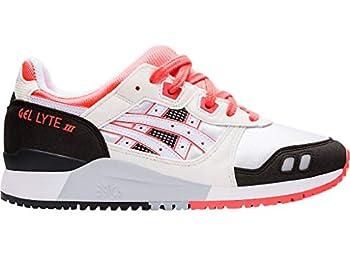 ASICS Women s Gel-Lyte III OG Shoes 7.5 White/Flash Coral