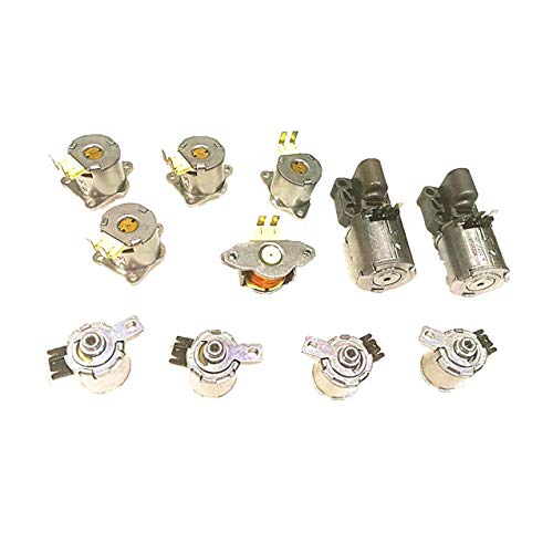 DQ250 DSG 02E Automatic Transmission 6speed Solenoids kit for Audi Skoda VW Seat N217 PC3 N218 PC4, ZDTOPA OEM Parts