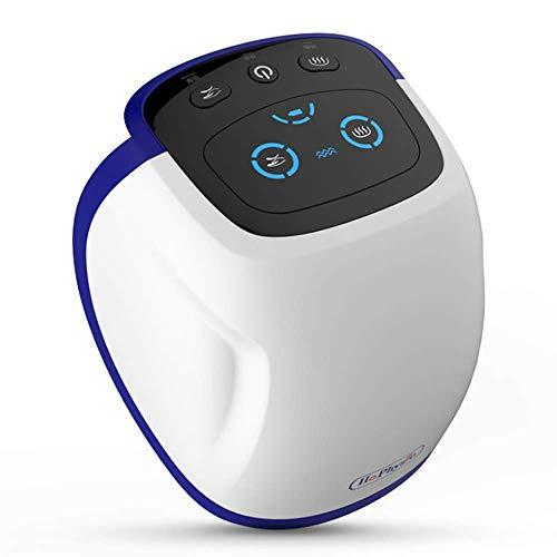 SHEHUIREN Kniemassagegerät Luftdruckmassage Kniegelenk Physiotherapie Instrument Ferninfrarot Thermische Kompression Elektrische Heizung Warmes Kniepolster