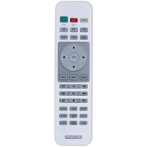 AuKing Projektor-Fernbedienung für BenQ HT1075 HT1085ST HT2050 HT2050A HT2150ST HT3050 HT4050 MH684 TH670 TH670s TH683 W1070+W W1075 W1080ST+ W1090 W1110s W1120 W1210ST W1350 W2000 W2000+ W3000