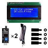 IIC I2C Serial LCD Screen 2004 20X4 Modulo Display LCD 2004/20 x 4, 5V Compatibile con Ard...
