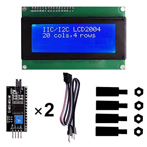 IIC I2C Serial LCD Screen 2004 20X4 Modulo Display LCD 2004/20 x 4, 5V para Arduino Uno R3 MEGA 2560