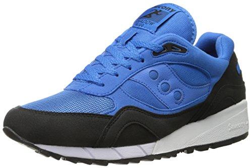 Saucony, Uomo, Shadow 6000 Betta Pack Azzurre Nere, Suede/Mesh, Sneakers, Blu, 46 EU