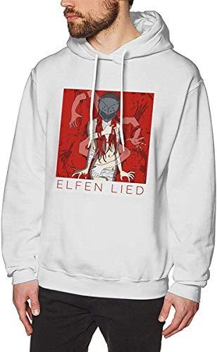 Anime Elfen Lied & Lucy Herren Langarm Pullover Sweatshirts Hoodies Gr. S, Ein Stil