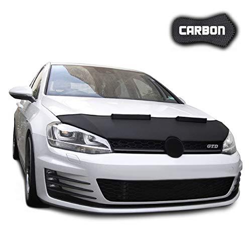 Haubenbra für Golf 7 CARBON Steinschlagschutz TUNING Steinschlagschutzmaske Automaske