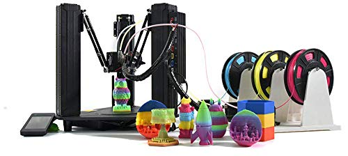 DOBOT MOOZ 3 Auto Color Mixing and Switching Full Color Range Triple Extruder 3D Printer