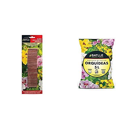 Abonos - Clavos Fertilizantes Orquídeas - Batlle + Sustratos - Sustrato Orquídeas 5l. - Batlle