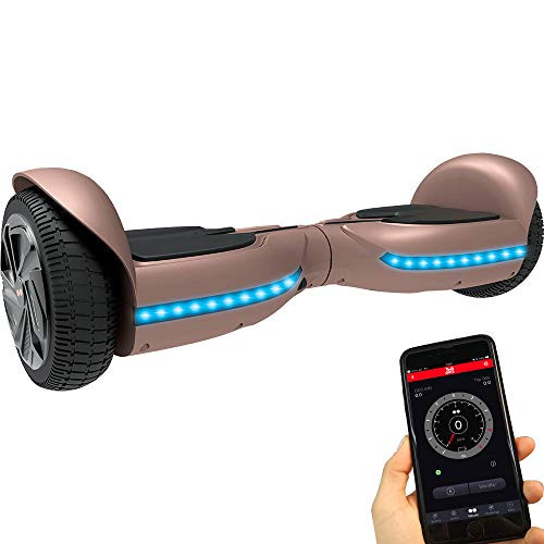 Twodots Hoverboard UL 2272 Glyboard PRO Pink, Pink, 63x24x23