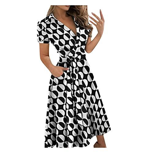 SLENDIPLUS Vestido longo feminino com decote em V e estampa de renda, justo, envelope, quadris, vestido longo de verão com babados, Cinza, XXG