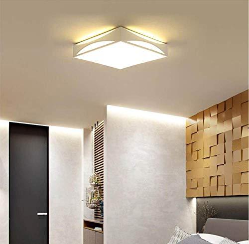 WFSDKN plafondlamp modern zwart wit design plafondlamp voor thuis moderne LED-lampen hoogwaardige plafondlamp voor woonkamer slaapkamer