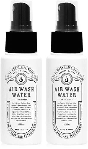 AIR WASH WATER (エアウォッシュウォーター) 高機能除菌消臭スプレー 携帯用60ml(2本)